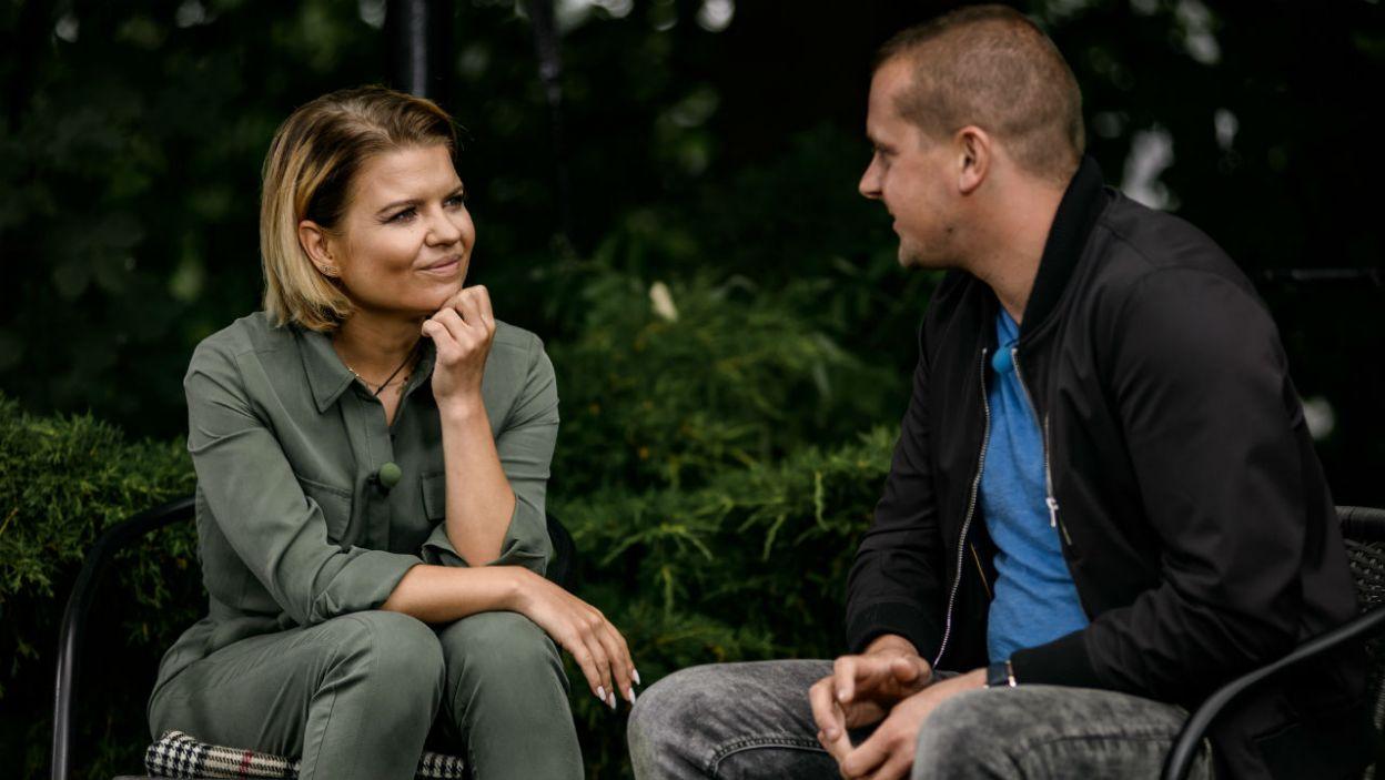 Seweryn wyznał Marcie, że w trakcie pobytu kandydatek targały nim różne emocje. Nie tylko te pozytywne (fot. P. Matey/TVP)