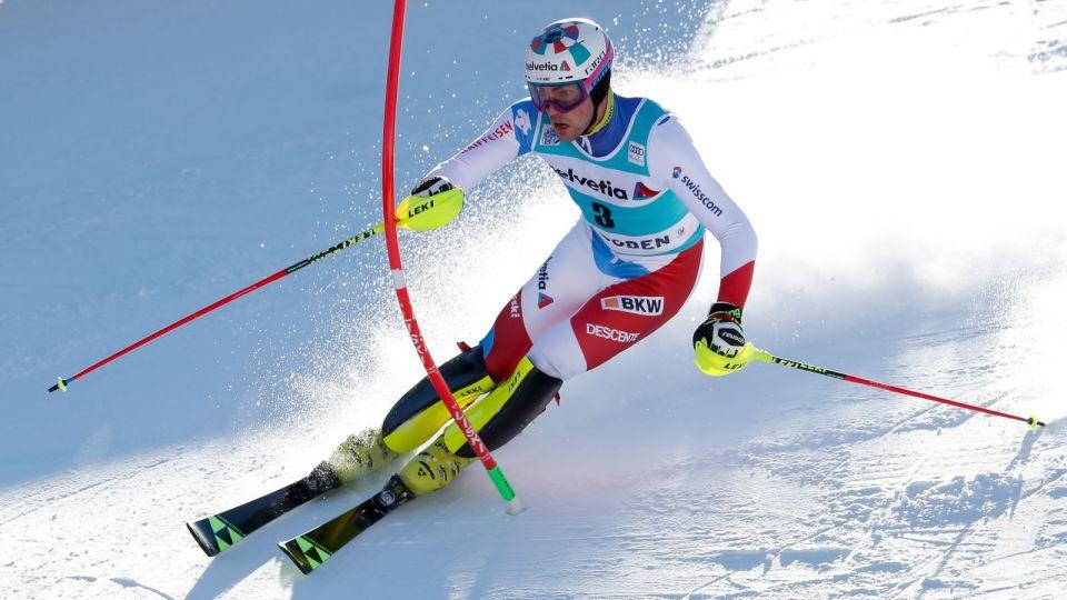 Alpejski PŚ: Daniel Yule najlepszy w slalomie w Adelboden