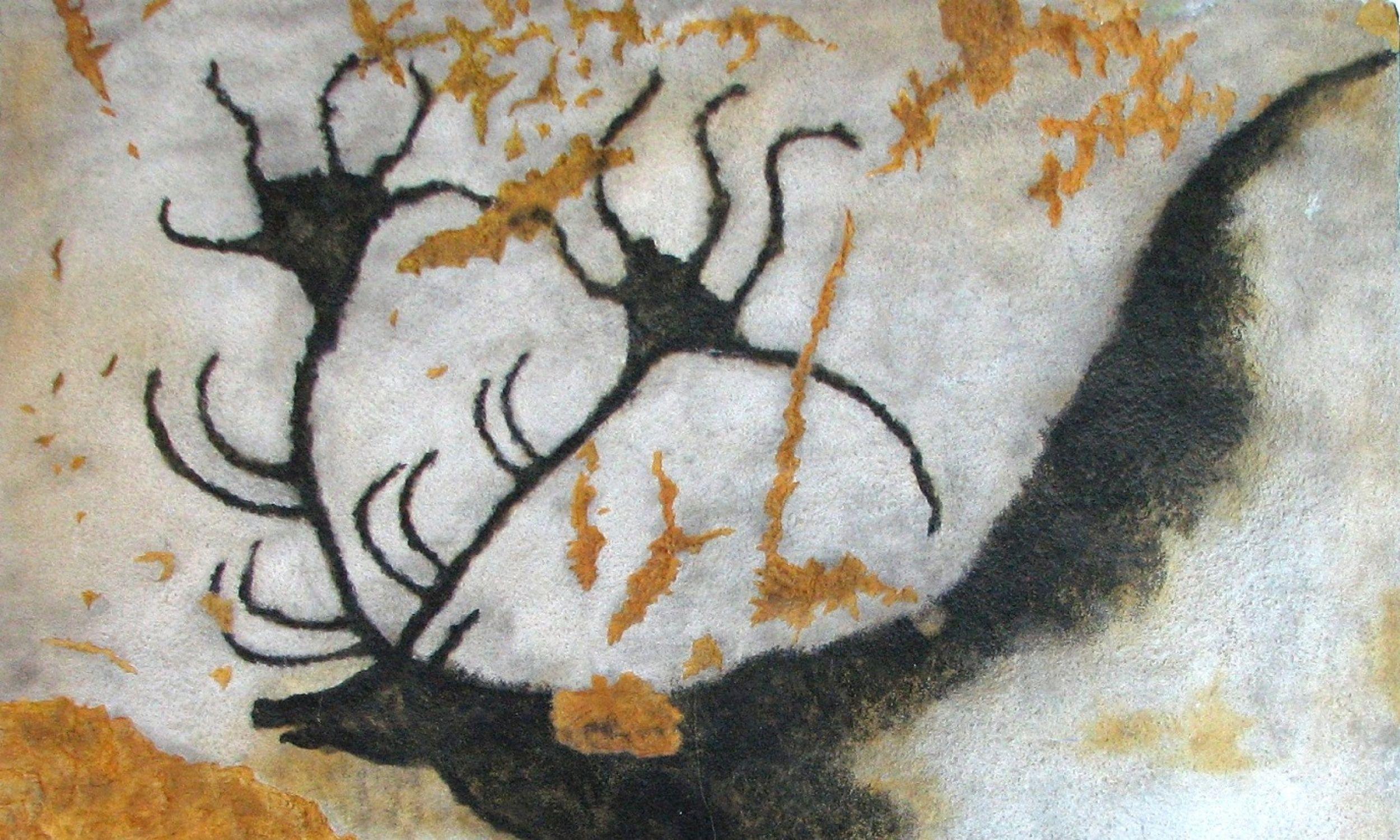 Malowidła ścienne z jaskini w Lascaux, około 15 000 przed naszą erą. Fot. HTO - Self-photographed, Public Domain, https://commons.wikimedia.org/w/index.php?curid=6909701