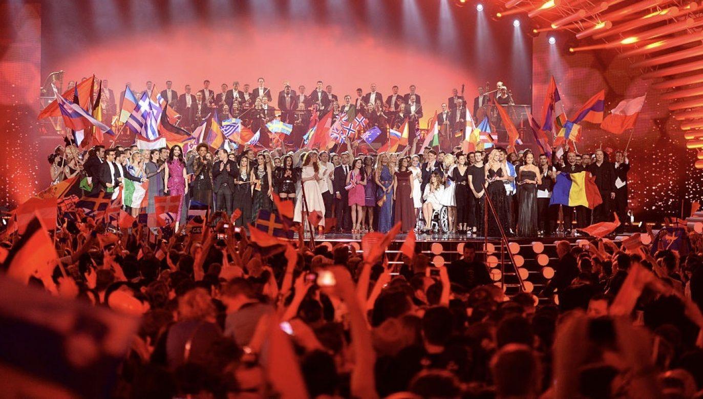 """Podczas koncertu """"Eurowizja: Światło dla Europy"""" nie zostanie wyłoniony zwycięzca (fot. Nigel Treblin/Getty Images)"""