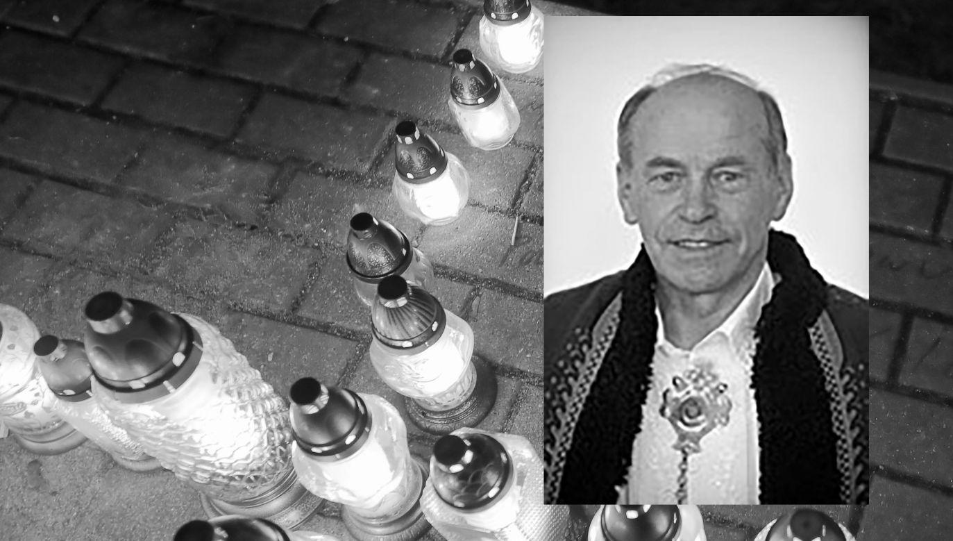 Franciszek Bachleda–Księdzularz był współtwórcą i kierownikiem kilku góralskich zespołów folklorystycznych (fot. PAP/Tomasz Wojtasik, URZĄD MARSZAŁKOWSKI WOJEWÓDZTWA MAŁOPOLSKIEGO)