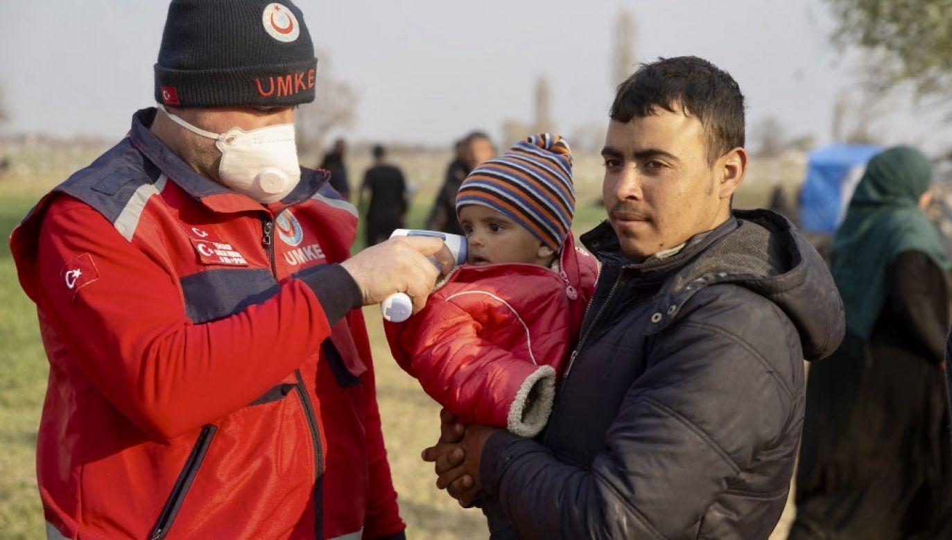 Na początku marca wydawało się, że nowa fala migracji jest nieuchronna (fot. Gokhan Balci/Anadolu Agency via Getty Images)