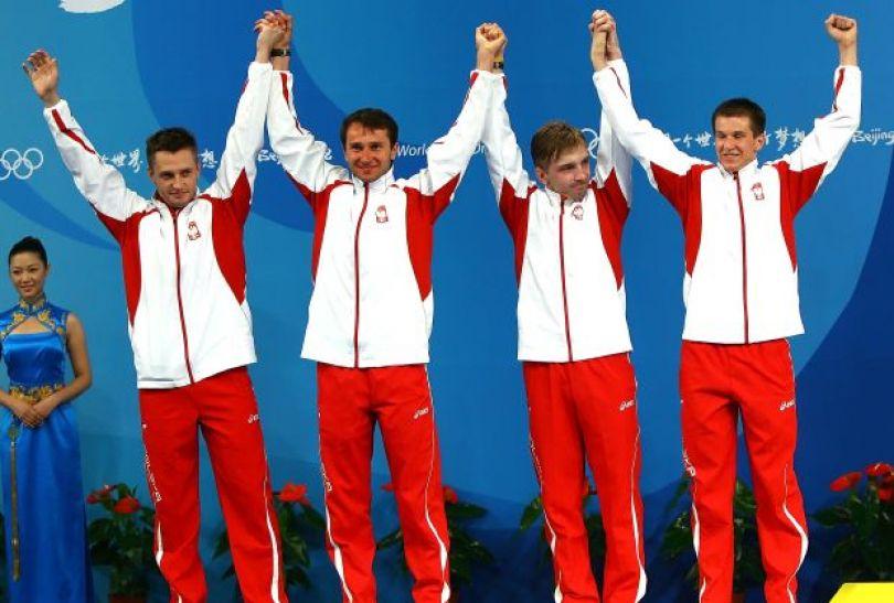 W Pekinie jedyny medal w szermierce zdobyła dla Polski drużyna szpadzistów (fot. Getty Images)