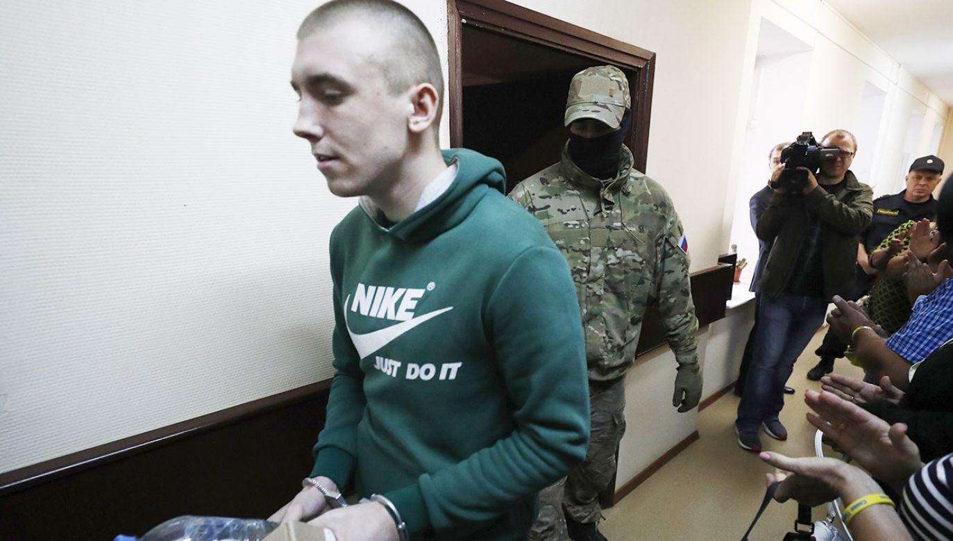 Ukraińscy marynarze mają pozostać w rosyjskim areszcie na kolejne trzy miesiące (fot. PAP/EPA/SERGEI ILNITSKY)