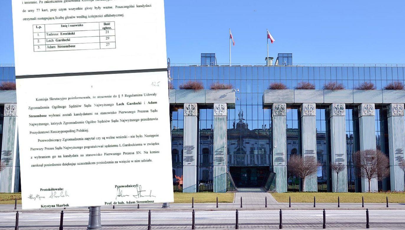 22 lata temu I prezes SN również nie uzyskał większości głosów (fot. Shutterstock/Grand Warszawski)