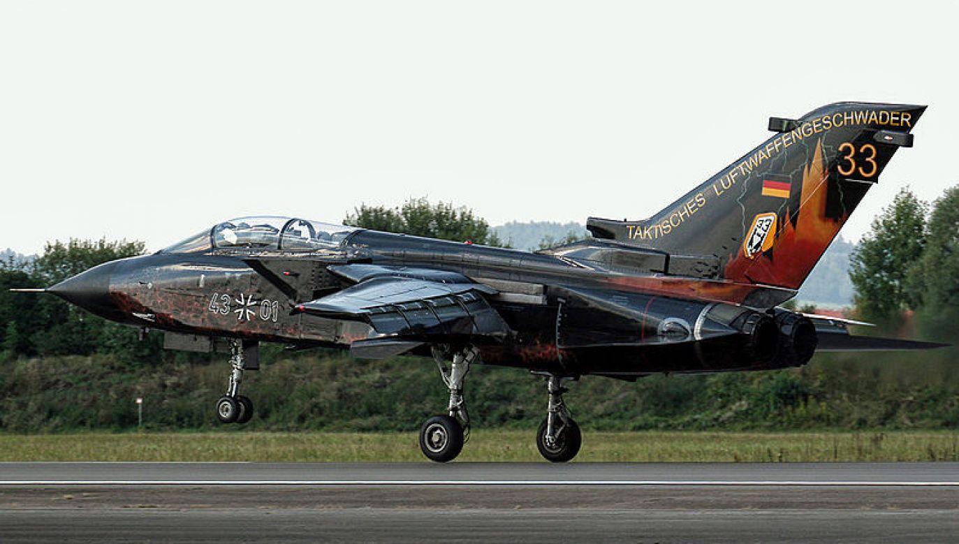 Według dpa ze strony niemieckiej w ćwiczeniach uczestniczą samoloty myśliwsko-bombowe Tornado 33 (fot. Wikimedia Commons)