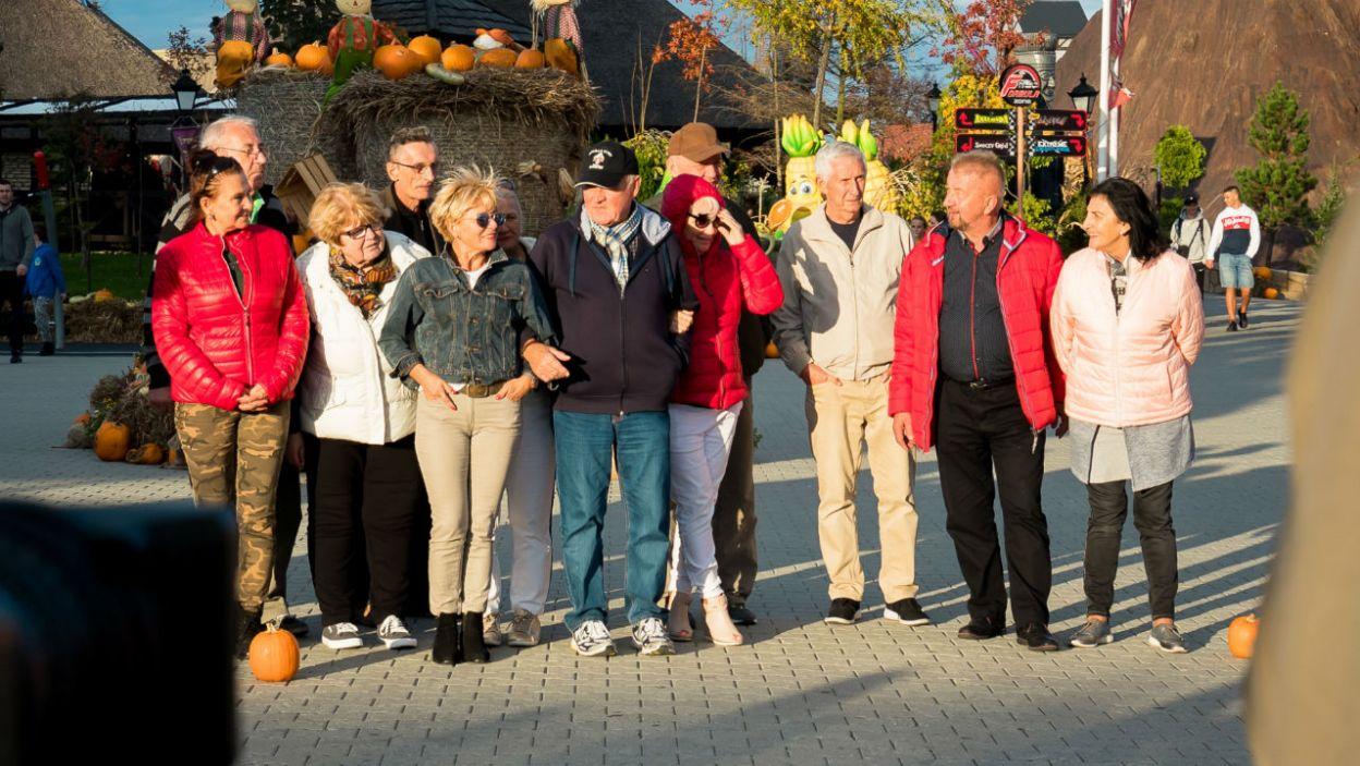 Ostatecznie wszyscy byli zadowoleni z wyjazdu. Grunt to spędzać czas w świetnym towarzystwie! (fot. TVP)
