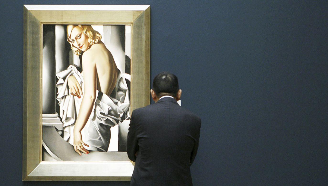 Aukcja odbyła się w londyńskim domu aukcyjnym Christie's (fot. REUTERS/Lucas Jackson)