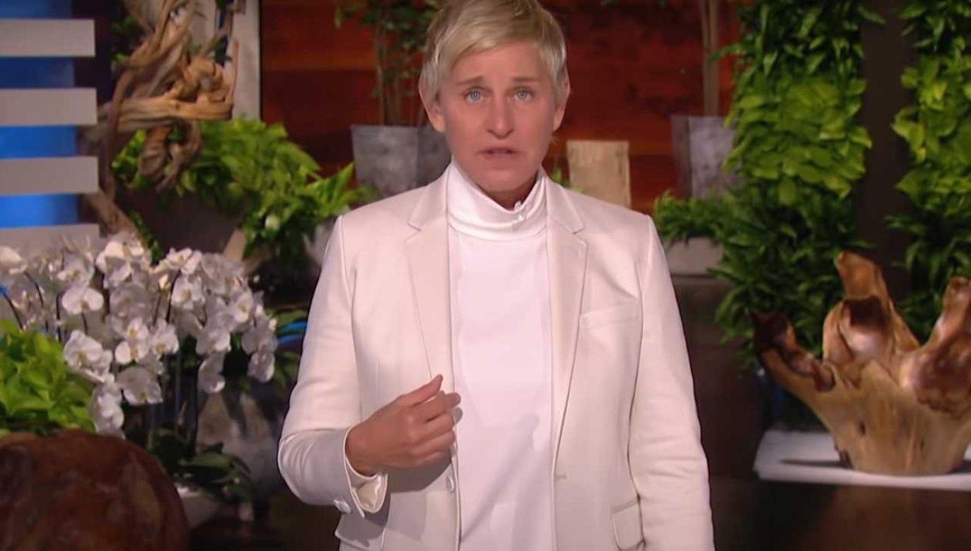 Ellen DeGeneres zapowiedziała serię zmiany (fot. YT/The Ellen Show)