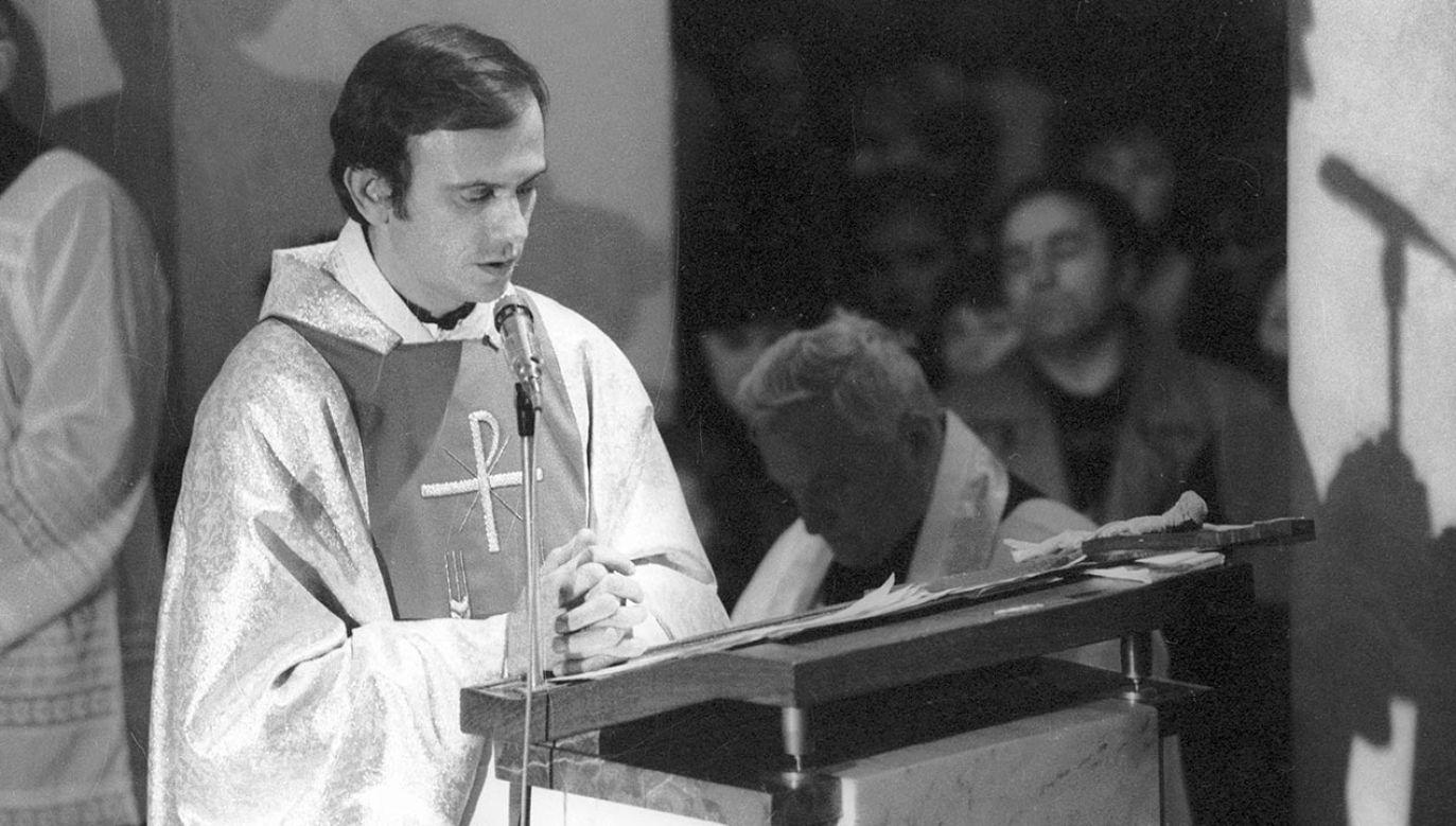 Dziś mija 37. rocznica śmierci bł. ks. Jerzego Popiełuszki (fot.  PAP/Wojciech Kryński)