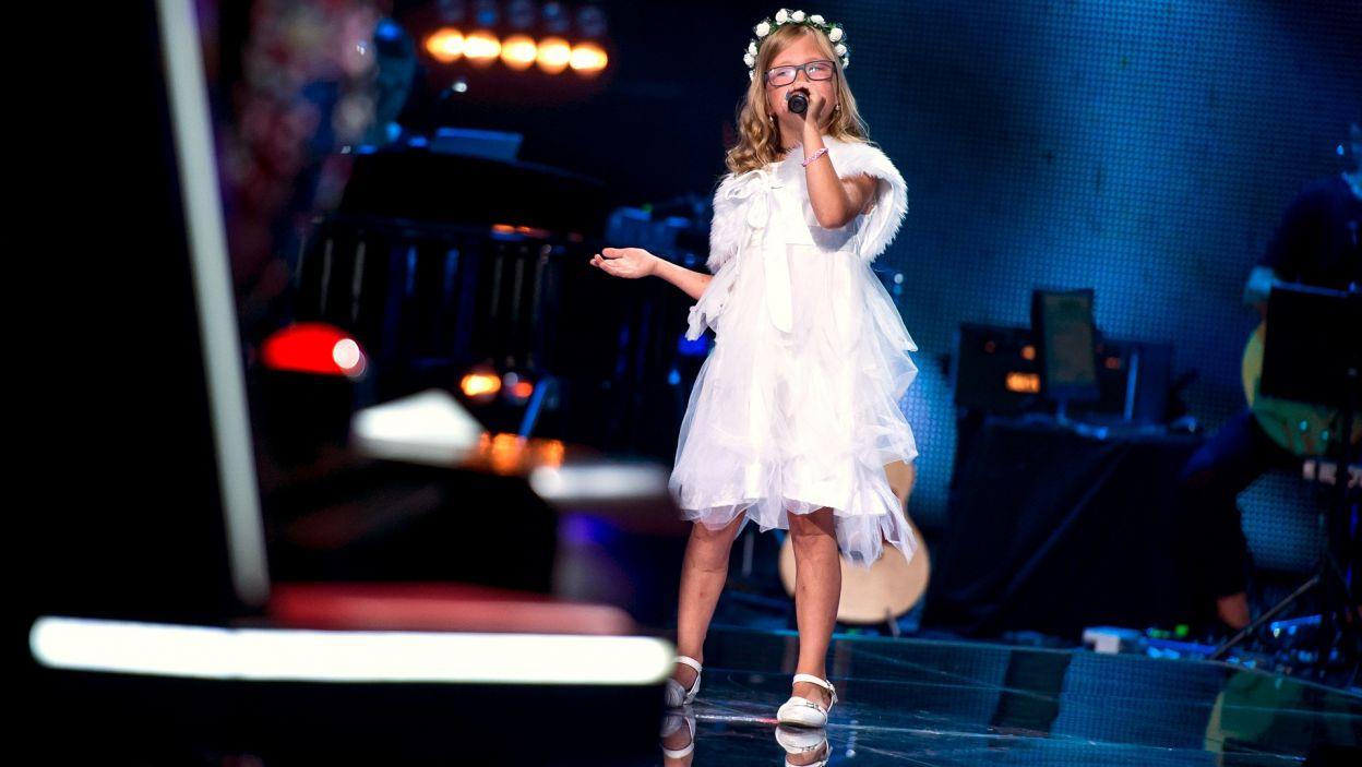 9-letnia Aurelia w utworze Violetty Villas to najbardziej urocze połączenie odcinka! (fot. J. Bogacz/TVP)