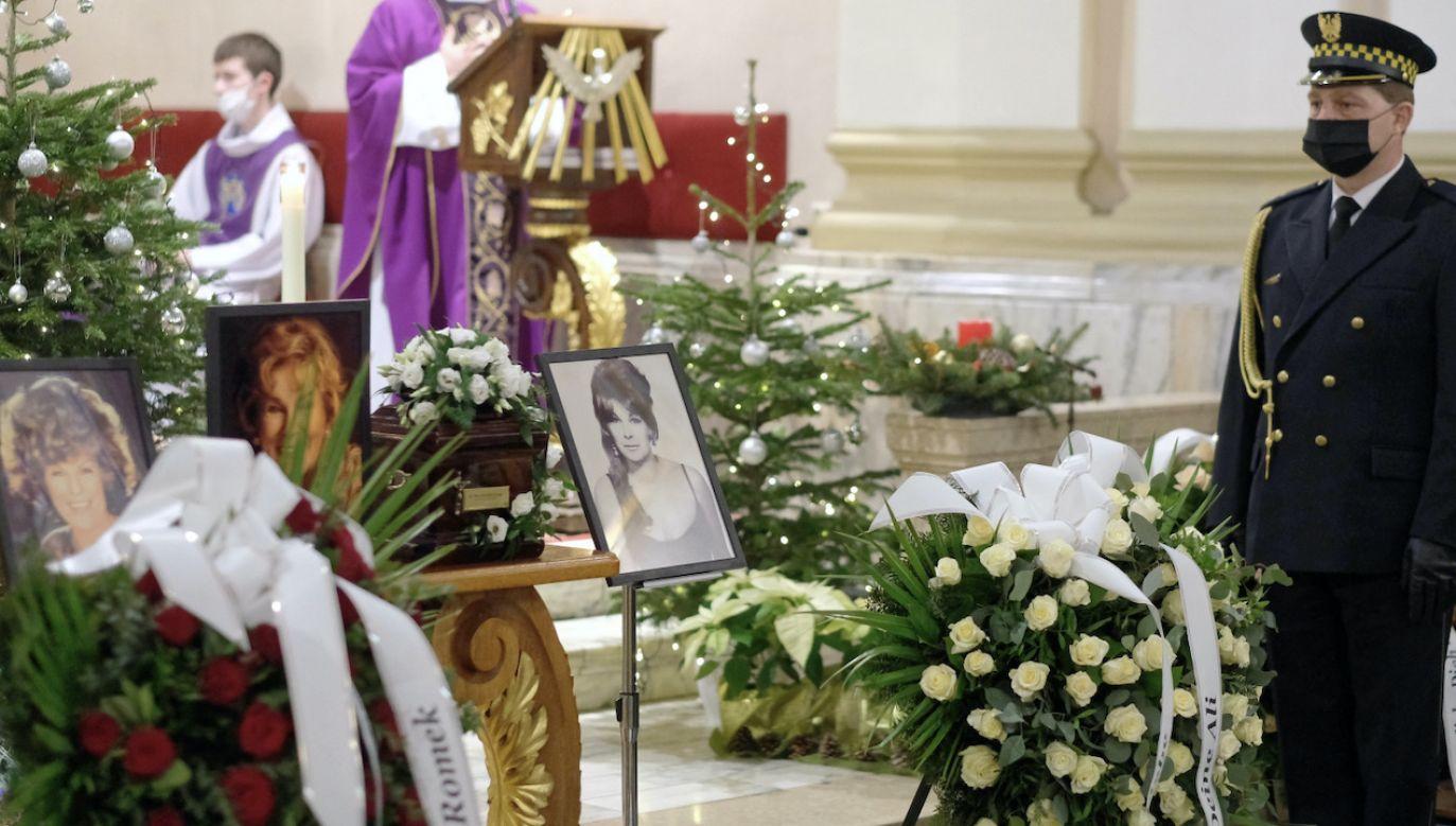 Byłe niekwestionowana królową polskiej piosenki (fot. PAP/A.Grygiel)