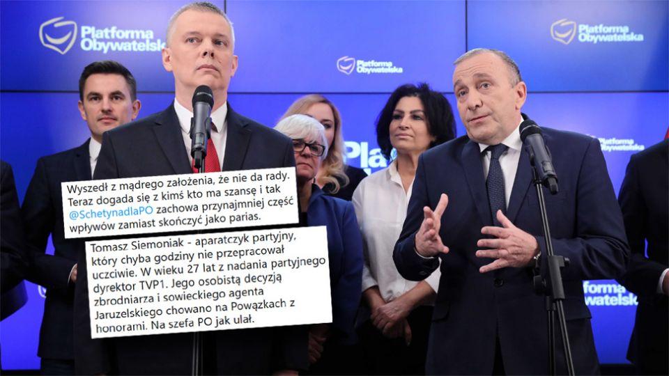 Publicyści komentują rekomendację Siemoniaka przez Schetynę - tvp.info