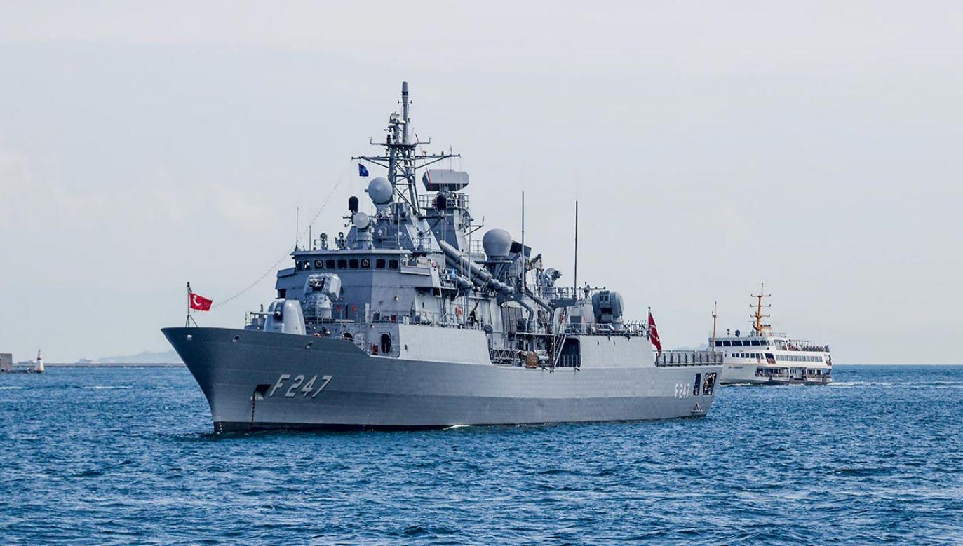 Incydent turecko-grecki na Morzu Śródziemnym (fot. Shutterstock)