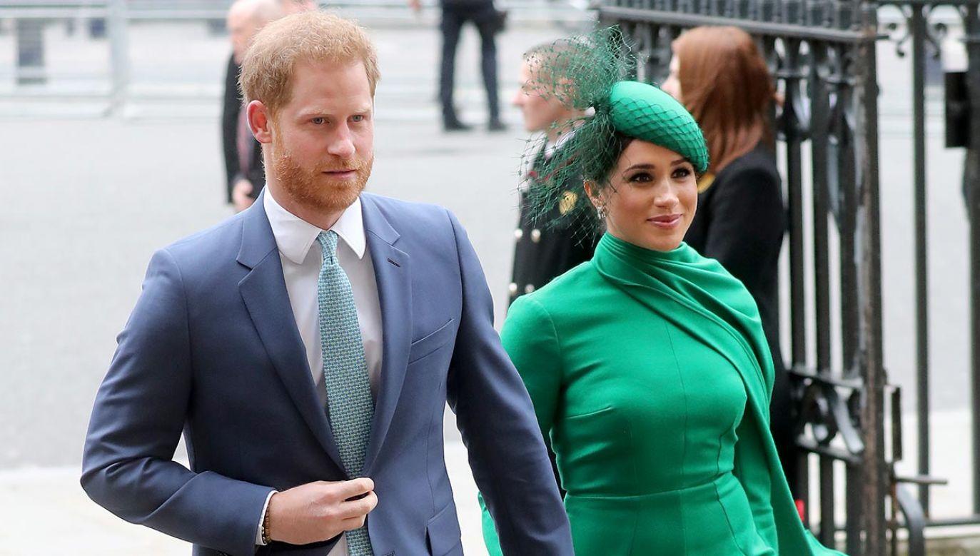 Oświadczenie książęcej pary zostały odebrane jako atak na ubiegającego się o reelekcję prezydenta USA Donalda Trumpa (fot.Chris Jackson/Getty Images)