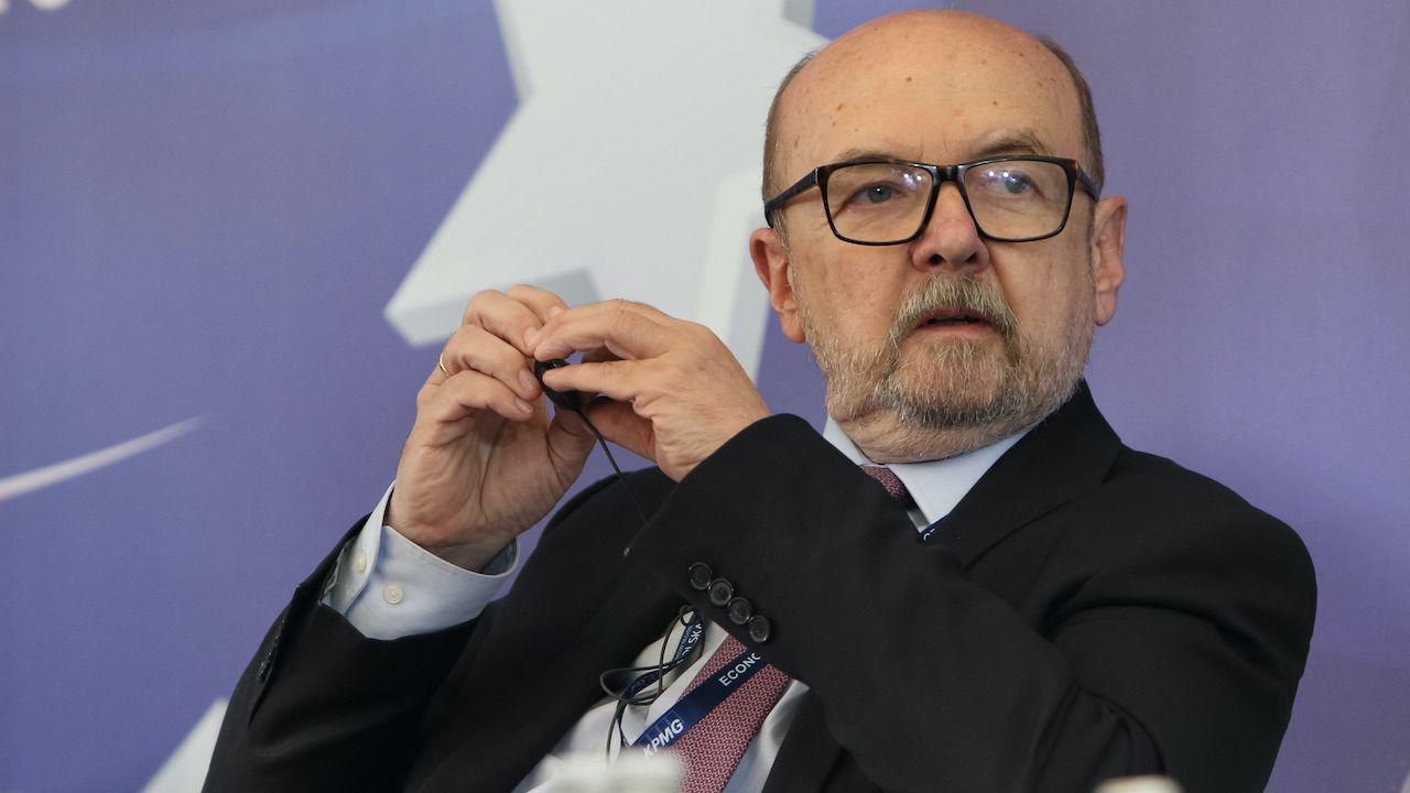 Europoseł PiS prof. Ryszard Legutko (fot. Henryk Przondziono/Gość Niedzielny/Forum)