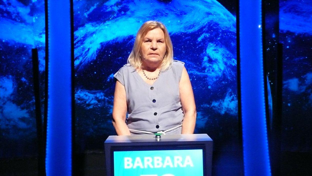 Pani Barbara Bugalska wygrała 9 odcinek 122 edycji
