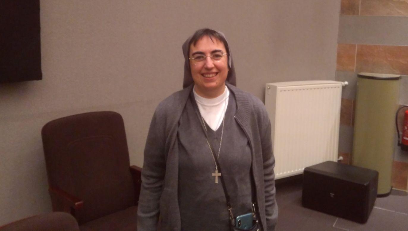 S. Alessandra Smerilli, pierwsza kobieta w Papieskiej Komisji Państwa Watykańskiego (fot. Beata Sylwestrzak)