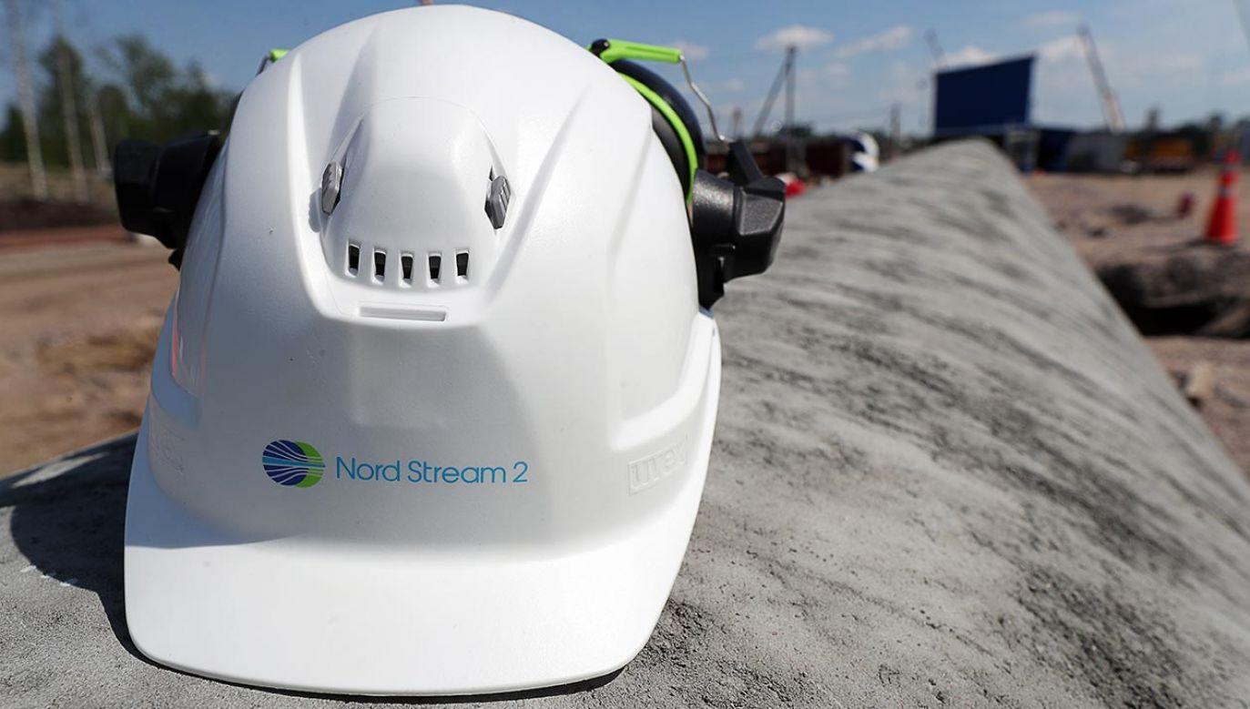 Nord Stream 2 ma transportować 55 mld metrów sześciennych gazu ziemnego rocznie (fot.  Alexander Demianchuk\TASS via Getty Images)