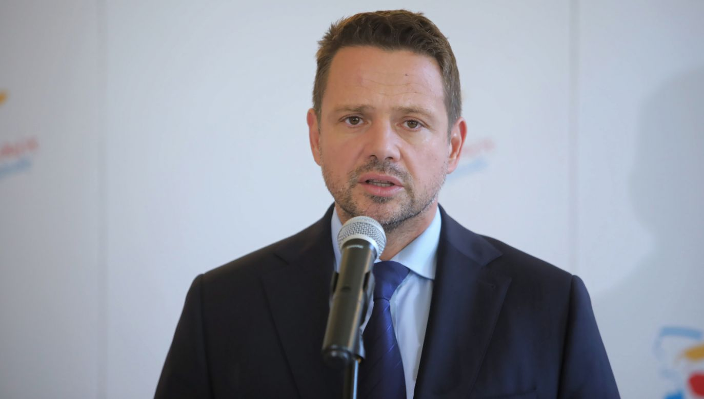 Prezydent Warszawy Rafał Trzaskowski (fot. PAP/Wojciech Olkuśnik)