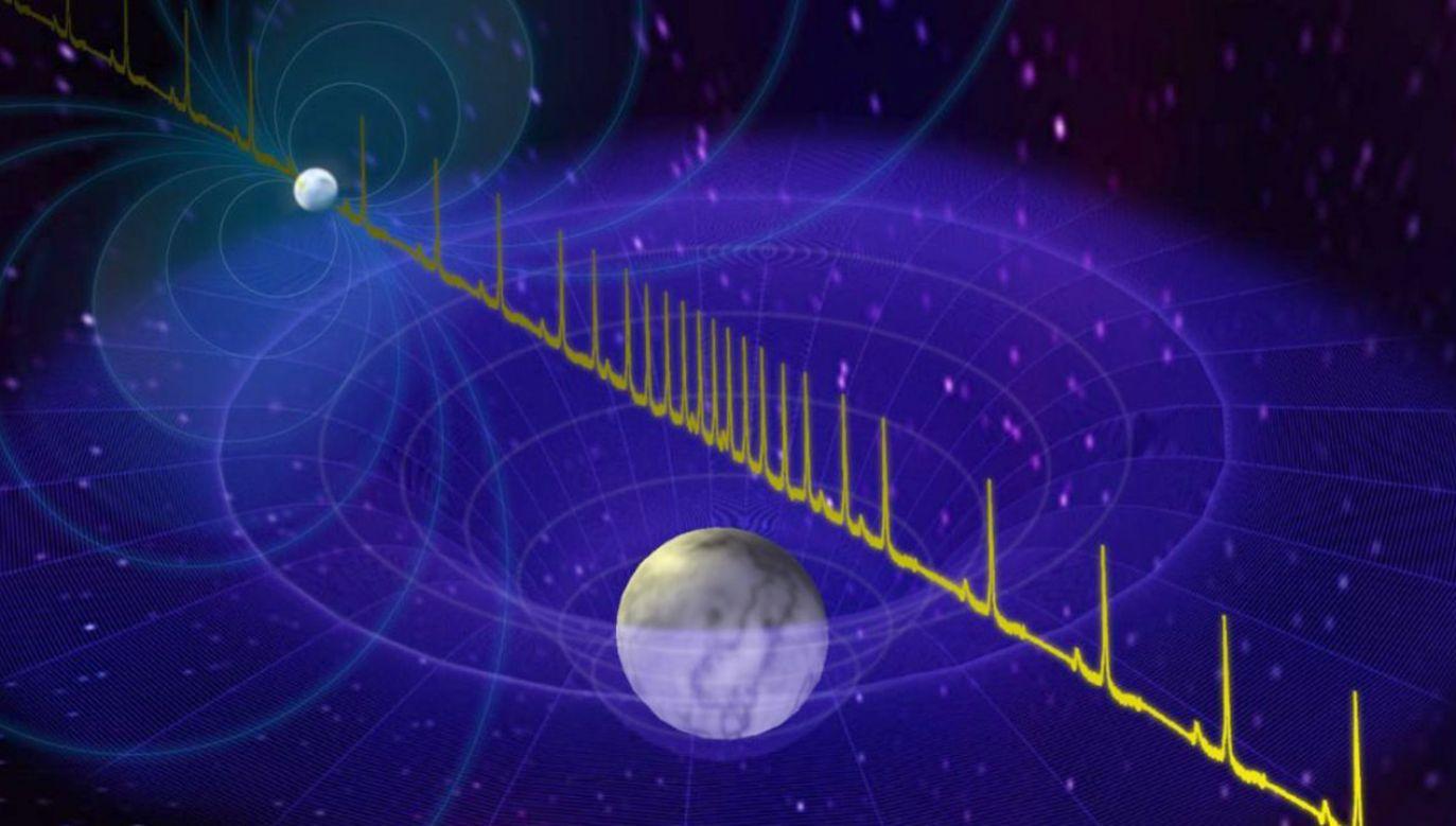 """""""Gwiazdy neutronowe są równie tajemnicze, co fascynujące"""" (fot. NANOGrav Physics Frontiers Center)"""