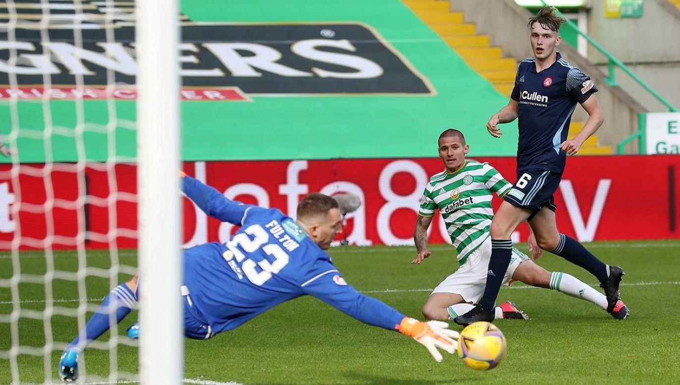 Patryk Klimala został piłkarzem Celiku w styczniu (fot. Ian MacNicol/Getty Images)