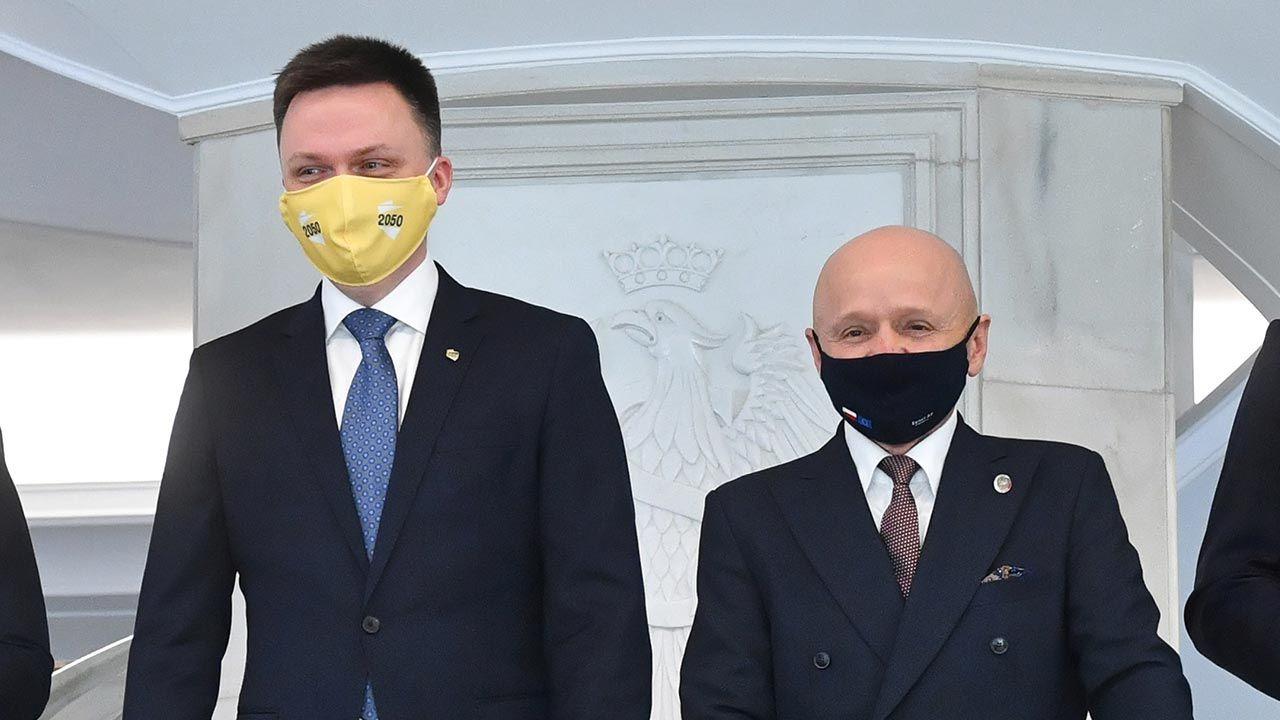 Kontrowersyjna wypowiedź Jacka Burego w TVN24 (fot. PAP/Radek Pietruszka)