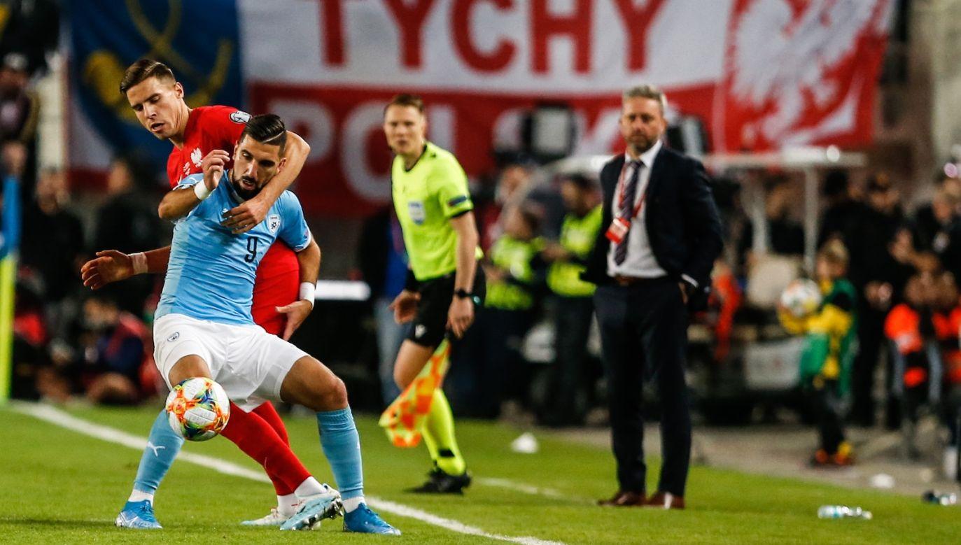 Po meczu z Izraelem Jerzy Brzęczek ma ciekawy materiał do przemyśleń (fot. Getty Images)